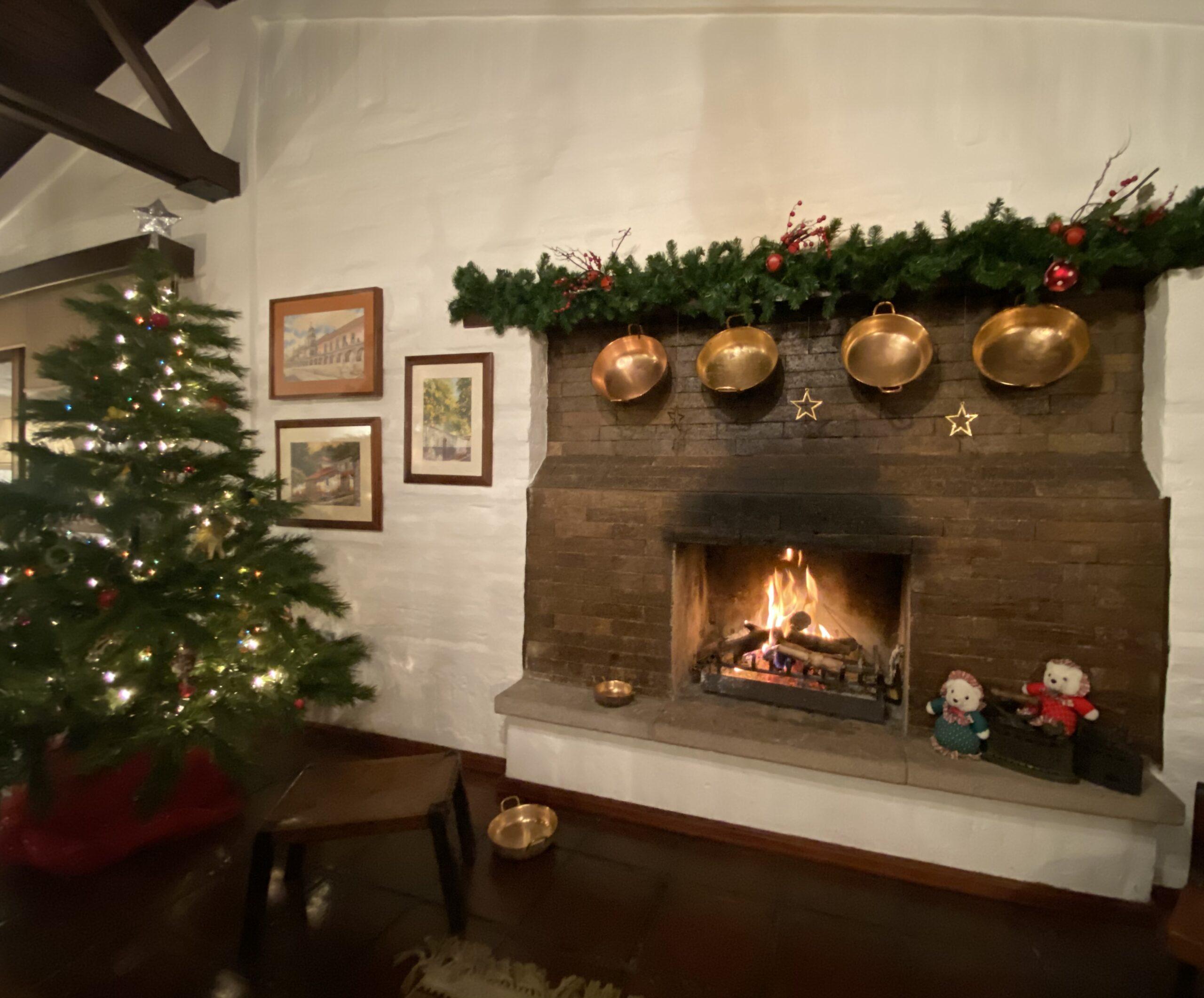 Chimeneas: la entrada favorita de Papá Noel